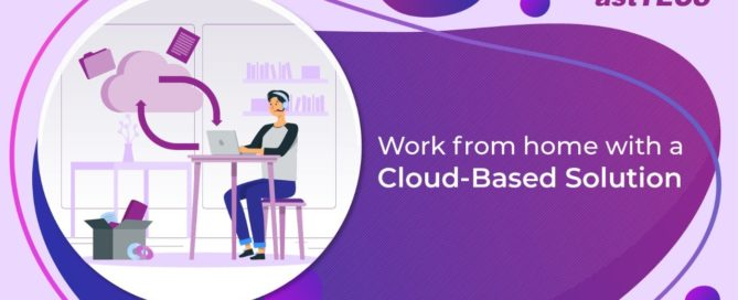 work from home with cloud based solution