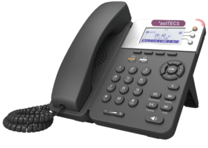 Asttecs IP Phones. Ast 550 Office Gigabyte IP Phone for business with auto sensing ethernet ports.