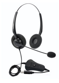 *ast HS USB Port Headset with Noise cancellation for Call centers and Offices