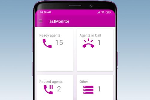 Mobile app based IP PBX