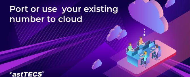port your existing telephone to cloud